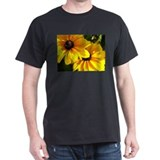 Black Eyed Susan Black T-Shirt