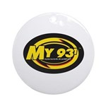 My 93.1 Ornament (Round)