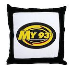 My 93.1 Throw Pillow