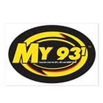 My 93.1 Postcards (Package of 8)