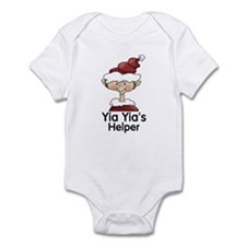 Yia Yia's Helper Elf (Boy) Infant Bodysuit