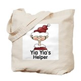 Yia Yia's Helper Elf (Boy) Tote Bag