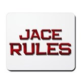 jace rules Mousepad