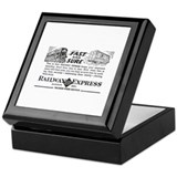 Fast & Sure-Railway Express Keepsake Box