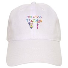 Crayons Preschool Teacher Baseball Cap