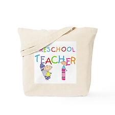 Crayons Preschool Teacher Tote Bag