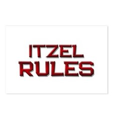 itzel rules Postcards (Package of 8)