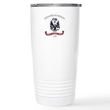 Unique Military retirement Travel Mug