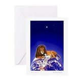 Season's Greetings-Lion/Lamb Cards (Pk of 10)