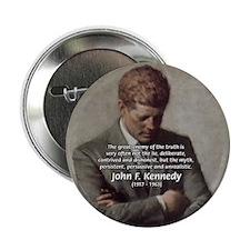 "Truth Myth John F. Kennedy 2.25"" Button (100 pack)"