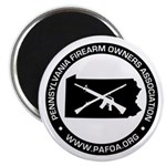 PAFOA Logo (Black) Magnets