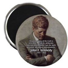 "Truth Myth John F. Kennedy 2.25"" Magnet (10 pack)"