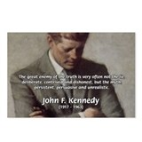 Truth Myth John F. Kennedy Postcards (Package of 8