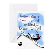 Funny Husky Greeting Cards (Pk of 10)