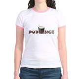 Supernatural Pudding Women's Jr. Ringer Tee