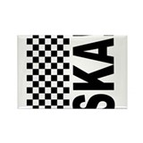Ska Rectangle Magnet