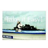 Cool Sled dog Postcards (Package of 8)