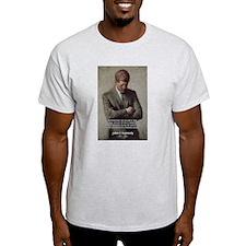 Man / War John F. Kennedy Ash Grey T-Shirt