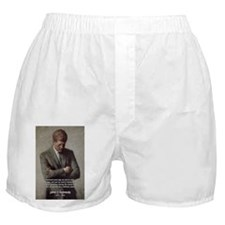 Man / War John F. Kennedy Boxer Shorts