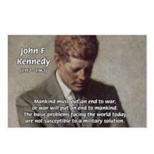 Man / War John F. Kennedy Postcards (Package of 8)