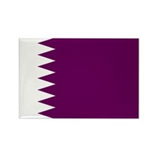 Qatar Flag Rectangle Magnet