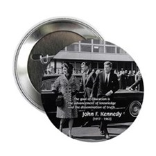 "Education John F. Kennedy 2.25"" Button (100 pack)"