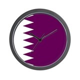 Qatari Wall Clock