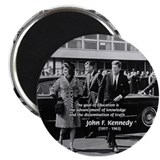 Education John F. Kennedy 2.25&quot; Magnet (10 pack)