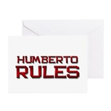 humberto rules Greeting Cards (Pk of 20)