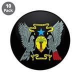 "Coat of Arms of SAO TOME AND 3.5"" Button (10 pack)"