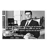 Humanist John F. Kennedy Postcards (Package of 8)
