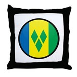 Saint Vincent Throw Pillow