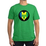 I love Saint Vincent Flag T