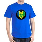 I love Saint Vincent Flag T-Shirt