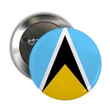 "Saint Lucian 2.25"" Button"