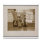 Woman's Suffrage Tile Coaster