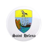 "Saint Helenian Coat of Arms S 3.5"" Button"