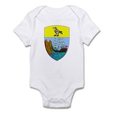 Saint Helena Coat of Arms Infant Bodysuit