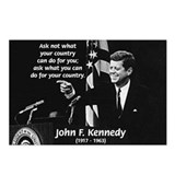 Famous Quote from JFK Postcards (Package of 8)