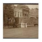 Suffrage 1914 Votes for Women Banner Tile Coaster
