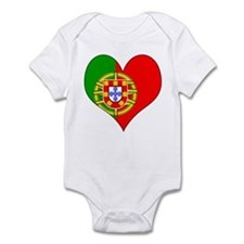 I Love Portugal Infant Bodysuit
