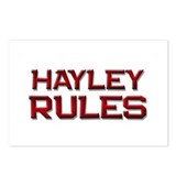 hayley rules Postcards (Package of 8)