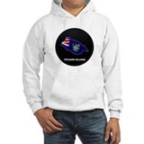 Flag Map of Pitcairn Islands Jumper Hoody