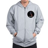 Flag Map of philippines Zip Hoodie