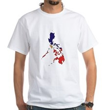 philippines Flag Map Shirt