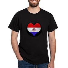 I love Paraguay Flag T-Shirt