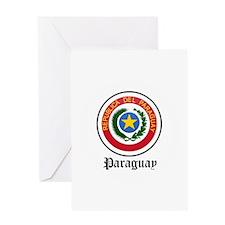 Paraguayan Coat of Arms Seal Greeting Card