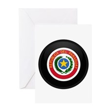 Coat of Arms of Paraguay Greeting Card