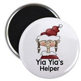 Yia Yia's Helper Elf (Girl) Magnet