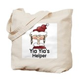 Yia Yia's Helper Elf (Girl) Tote Bag